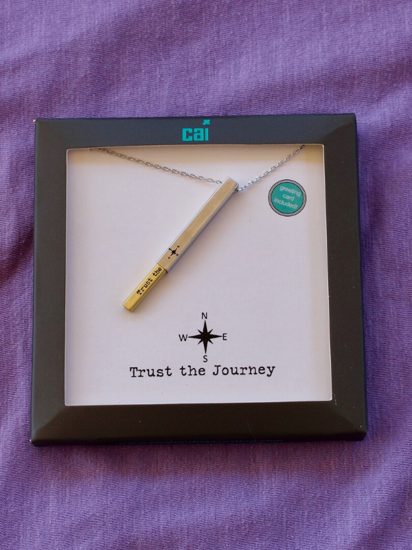 Silver Trust The Journey Necklace