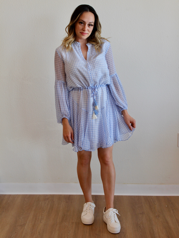Summer Picnic Mini Dress