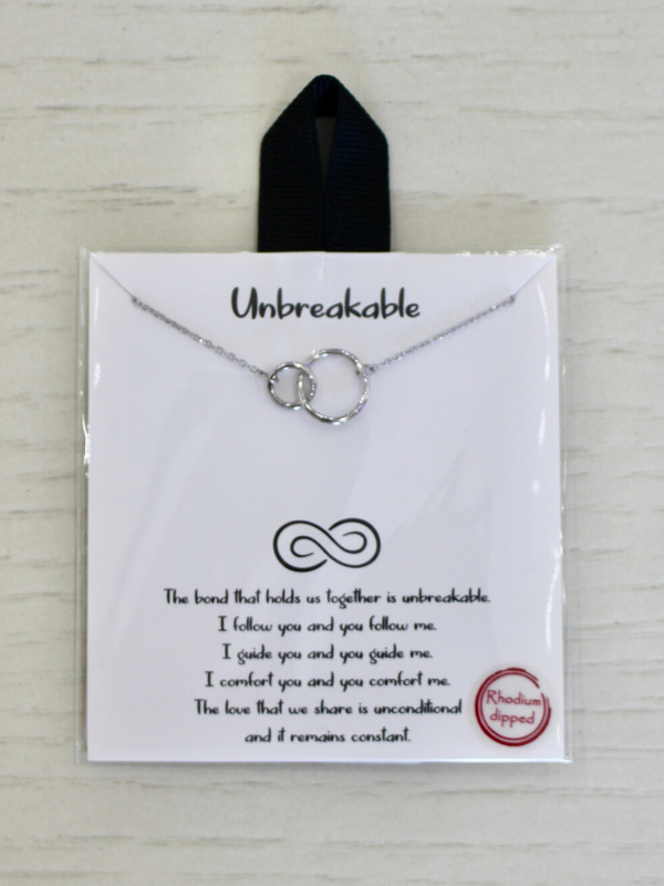Unbreakable Bond Silver Necklace