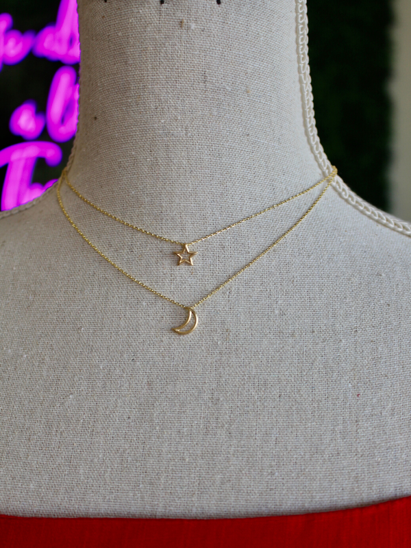 Under The Same Sky Gold Necklace