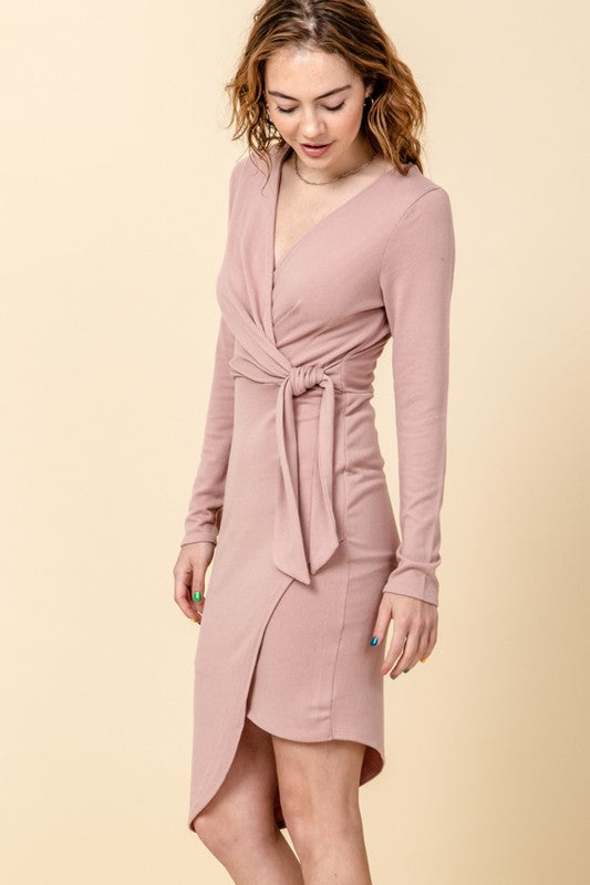 Very Merry Mauve Dress