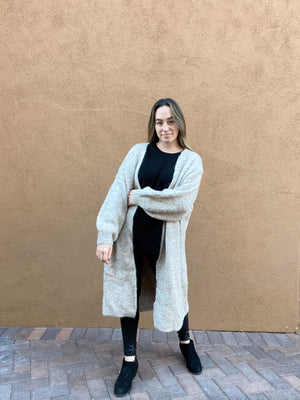 Heavenly Oatmeal Cardigan