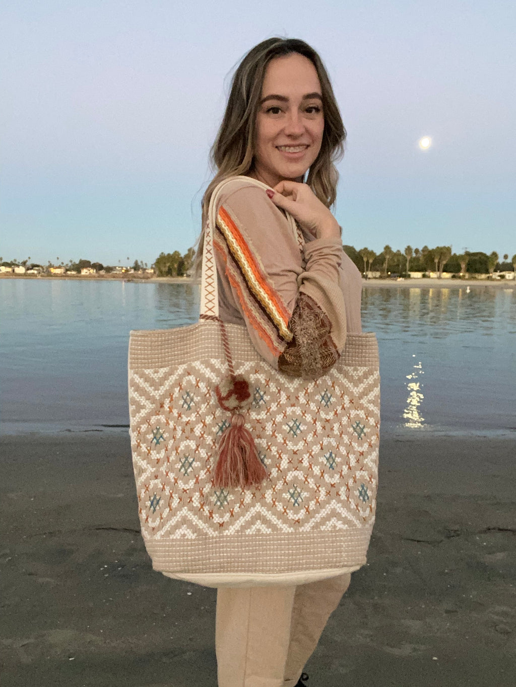 Natural Beach Bag