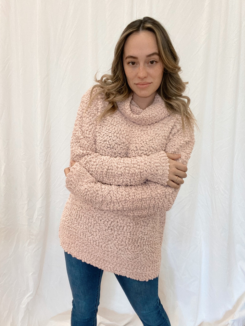 Powder Pink Sweater