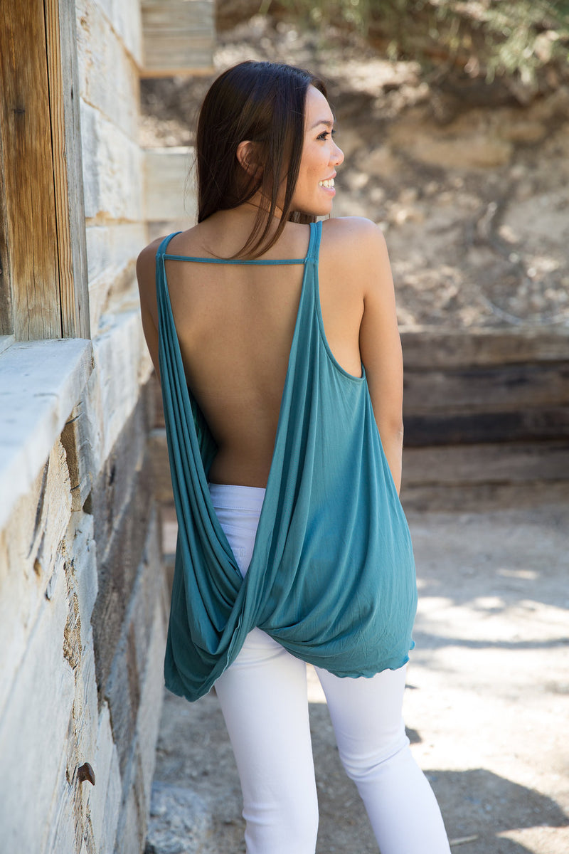 Twisted Cowl Tank