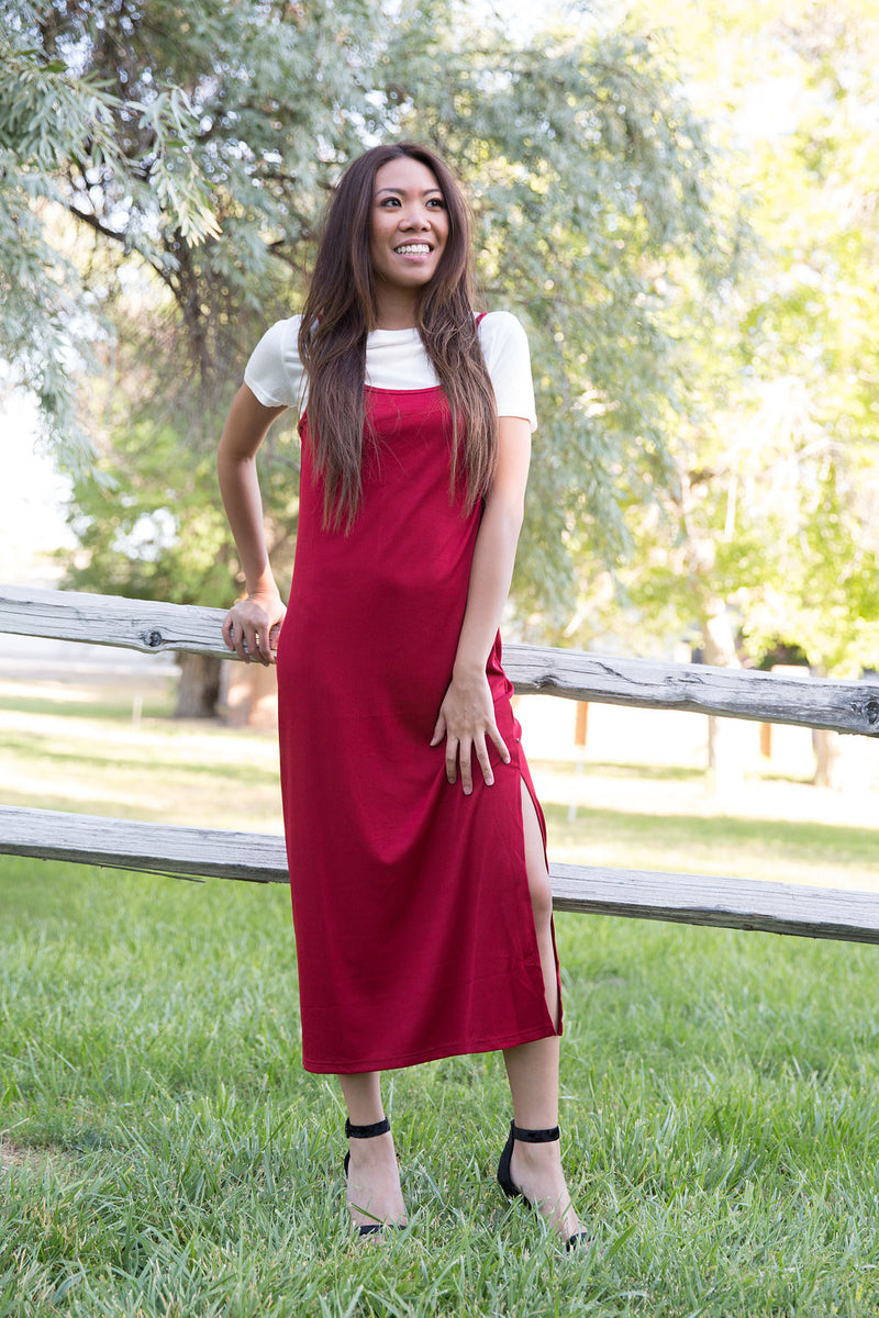 Layered Midi Dress