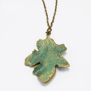 80% OFF TODAY ONLY- Stunning Leaf Pendant