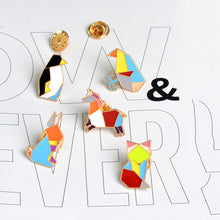 65% OFF - 9 Piece Set of Premium Origami Animal Lapel Pins!