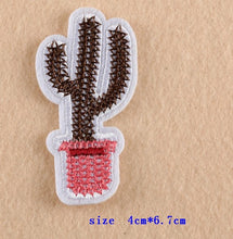 Iron-on Cactus Patches