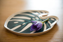 Premium Ceramic Monstera Serving/Jewellery Tray