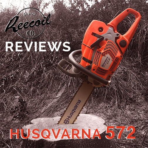 REECOIL REVIEWS HUSQVARNA 572 XP