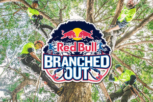 RED BULL TAKES ON COMPETITIVE TREE CLIMBING‍‍‍