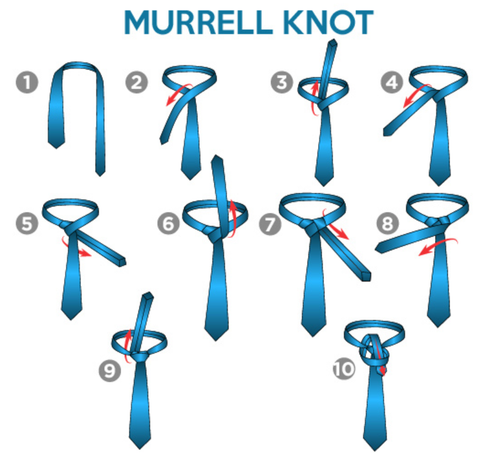gentleman.clothing how to tie a tie murrel
