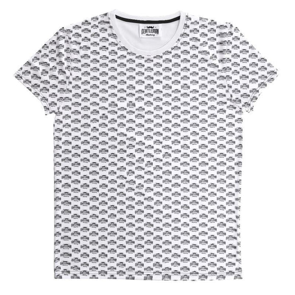 Customize your own shirt-Cut And Sew All Over Print T Shirt-Gentleman.Clothing
