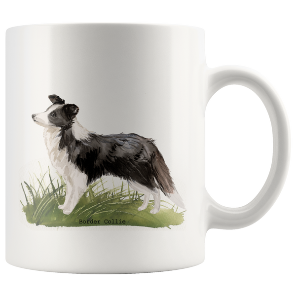 Boarder Collie Coffee Mug