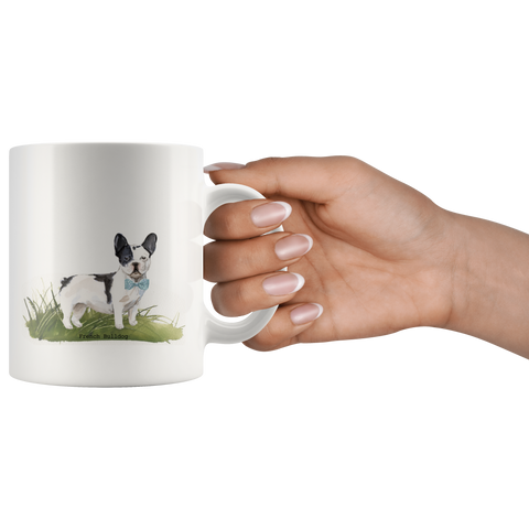French Bulldog with Bowtie Coffee Mug