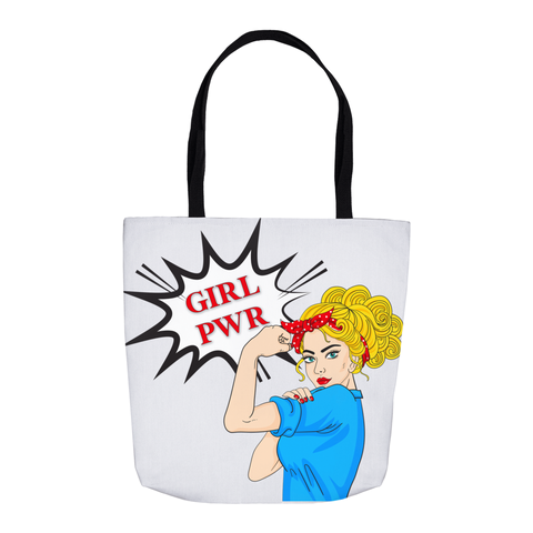 Girl PWR Tote Bag