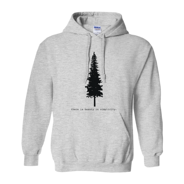 There is Beauty in Simplicity Hoodie Sweatshirt