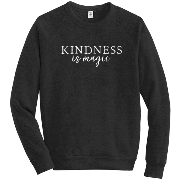 Kindness is Magic Eco-Fleece Sweatshirt