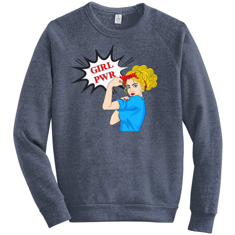 Girl Power Eco-Fleece Sweatshirt