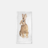 Rabbit Flour Sack Tea Towel