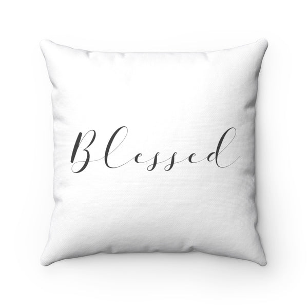 Blessed Square Pillow