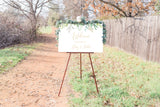 Kelsey Elegant Wedding Welcome Sign