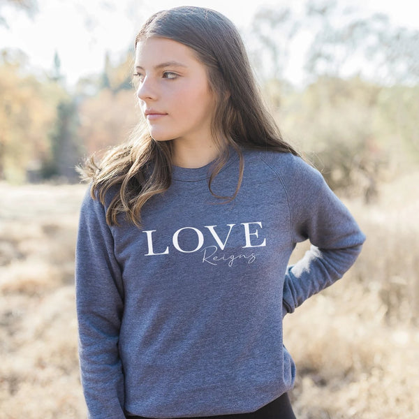 Love Reigns Eco-Fleece Sweatshirt