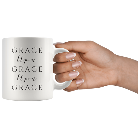 Grace Upon Grace Coffee Mug