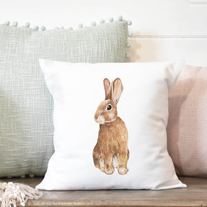 Spring Rabbit Pillow