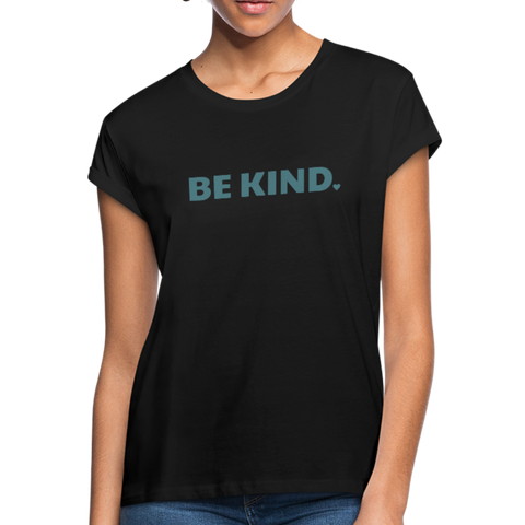 Be Kind Relaxed Fit T-Shirt - black