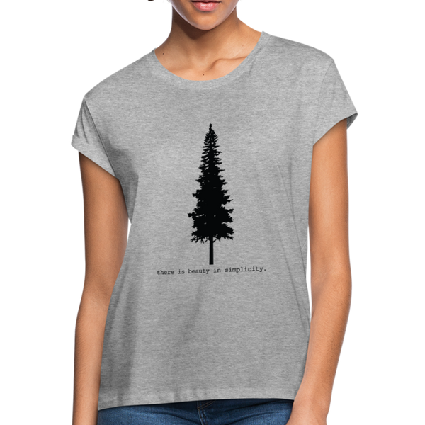 There is Beauty in Simplicity T-Shirt - heather gray