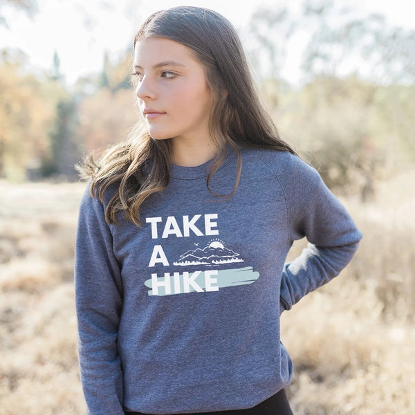 Take a Hike Eco-Fleece Sweatshirt