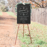 Unplugged Ceremony - Chalkboard Style