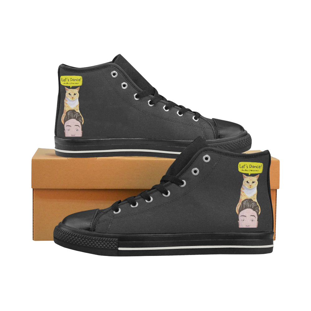 Peek a Boo Men's High Top Shoes