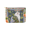 "Botanicat Pouch Collections-pouch-8""x6""-Meow Peach! Carry-All Pouch 8''x 6''-Kucicat"