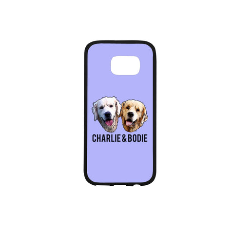 Charlie and Bodie Rubber Case for Samsung Galaxy