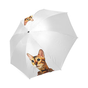 Simba the Bengal Foldable Umbrella