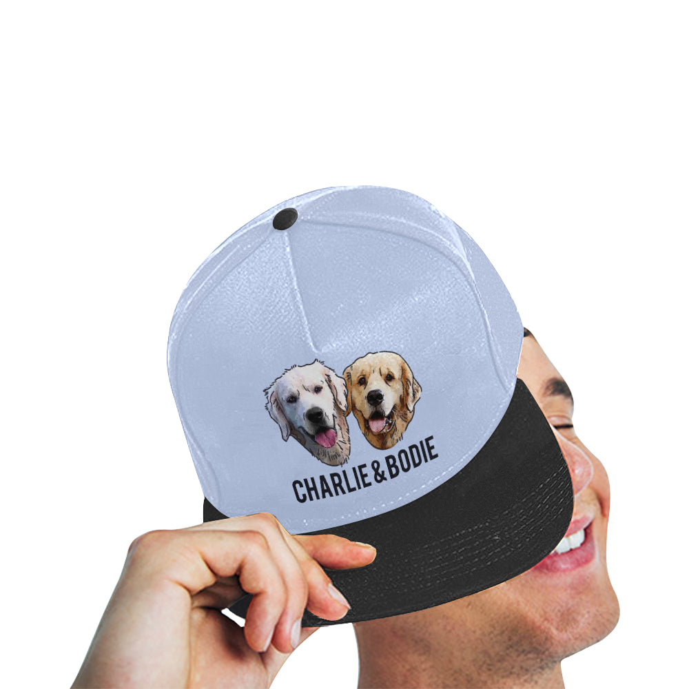 Charlie and Bodie All Over Print Snapback Hat