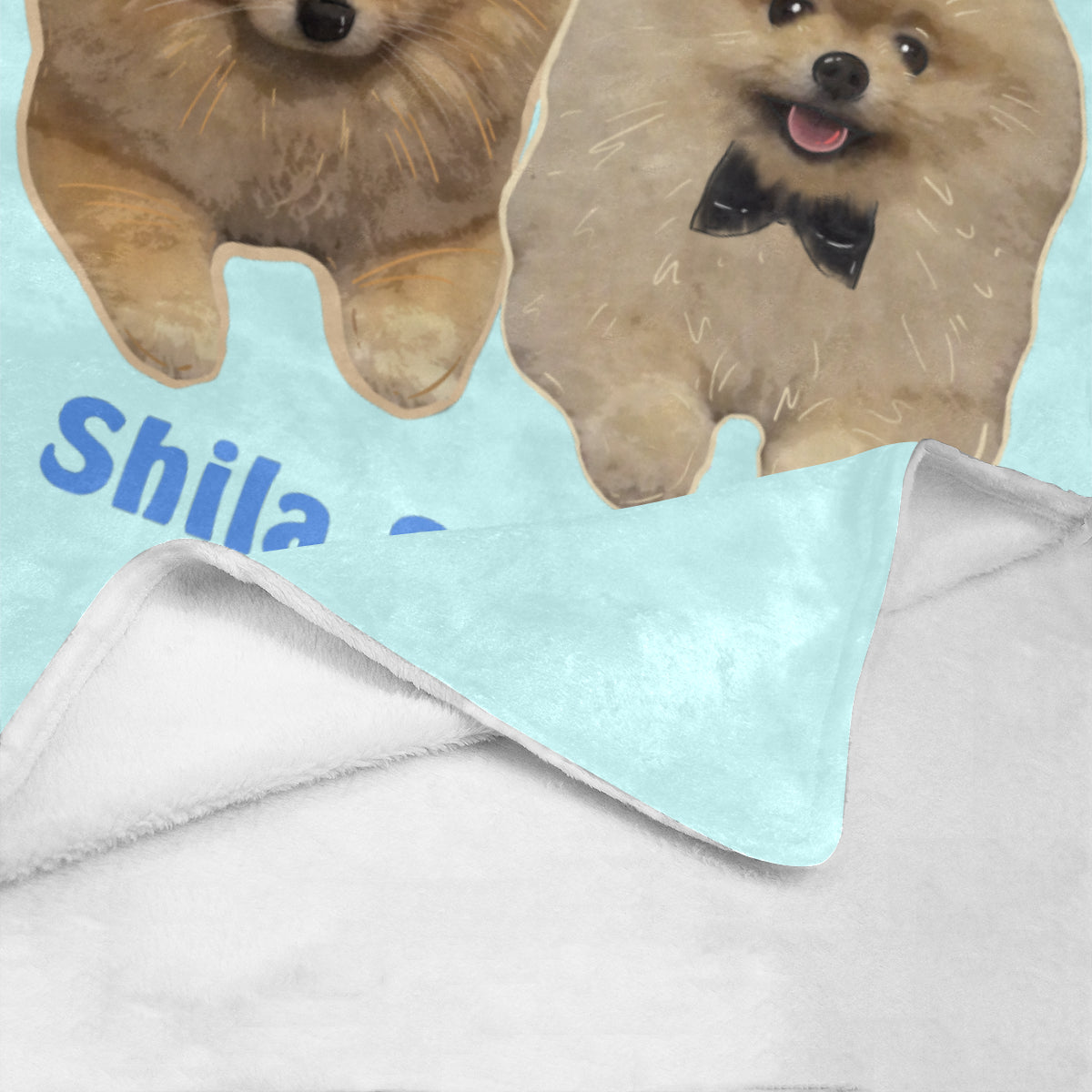 "Shila & Eddie Limited Edition Ultra-Soft Micro Fleece Blanket 40""x50"""