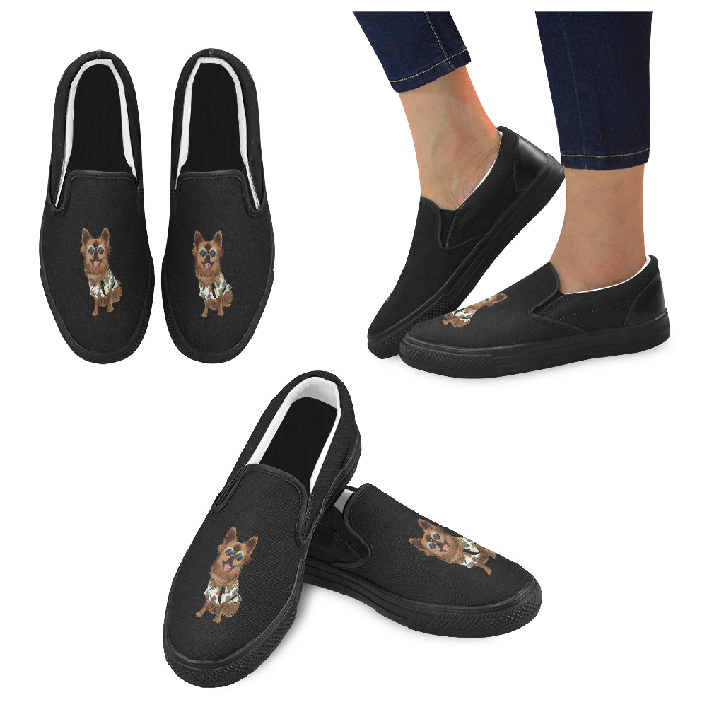 Chewie Women's Slip-on Canvas Shoes