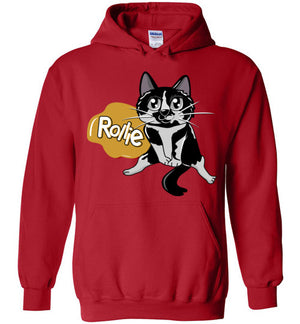 Rollie Cat Jacket Unisex Hoodie-Hoodie-Red-S-Kucicat
