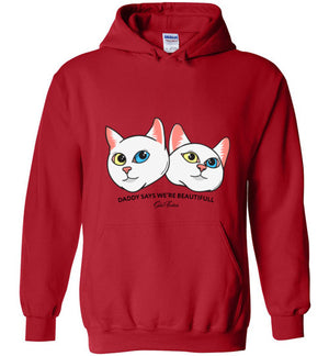 Iriss & Abyss sis.twins Unisex Hoodie Jacket S-2XL-Hoodie-Red-S-Kucicat