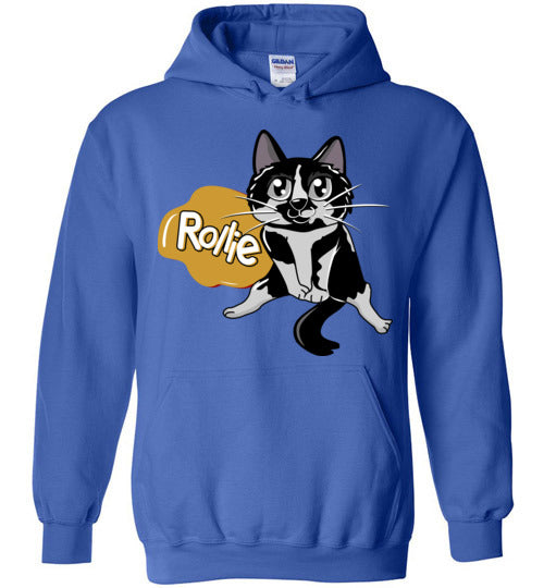 Rollie Cat Jacket Unisex Hoodie-Hoodie-Royal Blue-S-Kucicat