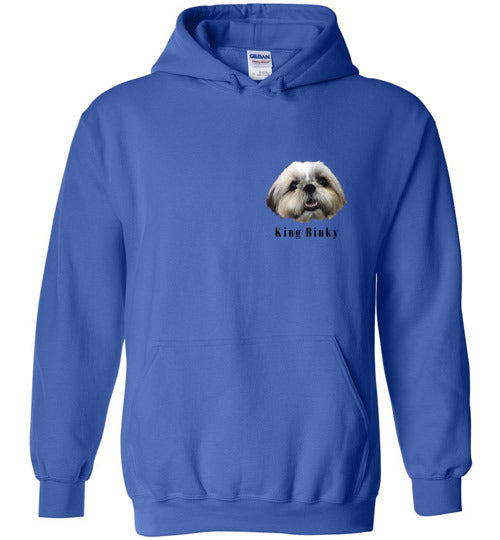 King Bingky Cute Face Unisex Hoodie Jacket S-2XL