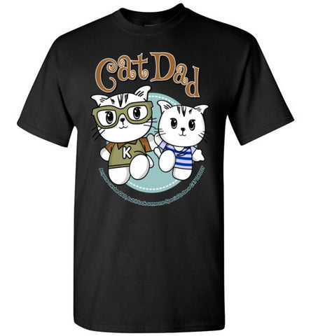 Cat Dad Men's T-shirt It Took Someone Special to be a Cat Daddy S-2XL-T-shirt-Kucicat