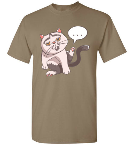 Tipperandco Lenny Cat Men's T-shirt S to 2XL-T-shirt-Kucicat