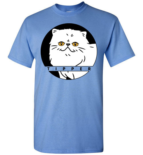 Tipperandco Persian White Cat Men's T-shirt S to 2XL-T-shirt-Kucicat