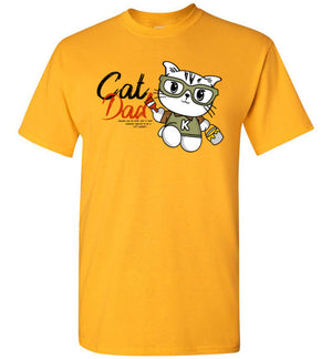 Cat Dad Kids T-shirt Special to be a Cat Daddy-T-shirt-Kucicat