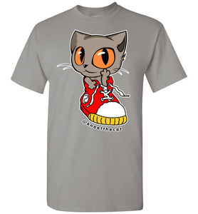 Knoet Cat and The Shoes Men's T-shirt S to 2XL